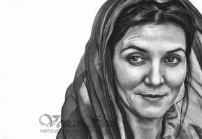 Catelyn Stark by VencaSeitl