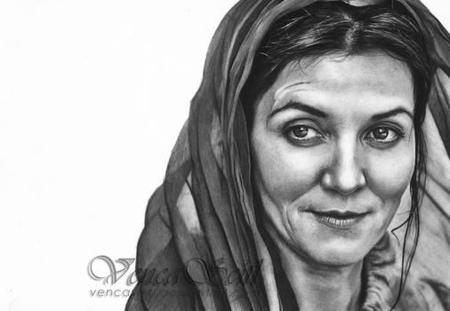 Catelyn Stark by VencaSeitl