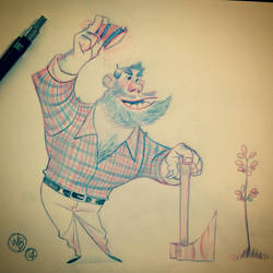 Paul Bunyan by WouterBruneel