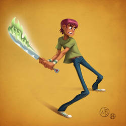 Scott Pilgrim  by WouterBruneel