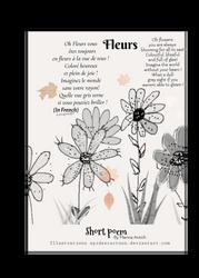 Short poem flowers  by Spideecartoon