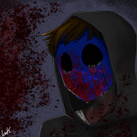Eyeless Jack by bnkthecreator