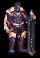Goliath Barbarian by BraddyApples