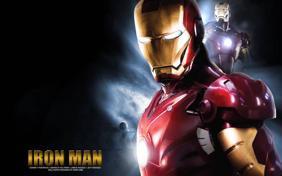 Iron Man Wallpaper HD By Sim25 Design