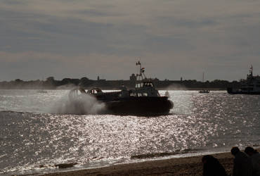 Southsea hovercraft by the-boggyb