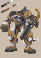 Steampunk WIP by NinjaCheese