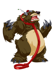 Dancing Bear by NinjaCheese