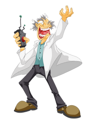 The Mad Professor by NinjaCheese