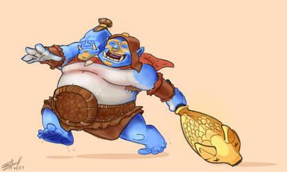 Ogre Magi by NinjaCheese