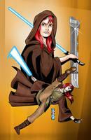 Jedi Padawan Scout by FandomComics