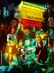 Buffy the Vampire Slayer by okissop