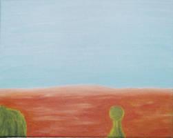 On The Desert Walk by BleedingCrowe