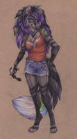 Piper Starling Gray, Free Spirit At Your Service by wielderofthewind