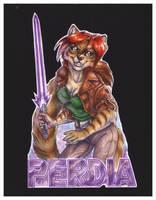 Perdia Freeform Badge by wielderofthewind