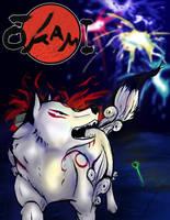 Ammy Loves Fireworks by wolfsilvermoon