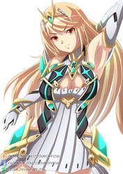 Mythra - NSFW Available! by CZomb