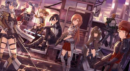 CM : Gun Gale Online [GGO] by Riki-to