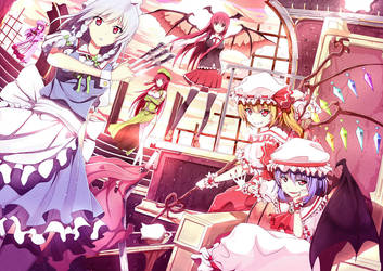 Touhou : Scarlet Devil Mansion by Riki-to