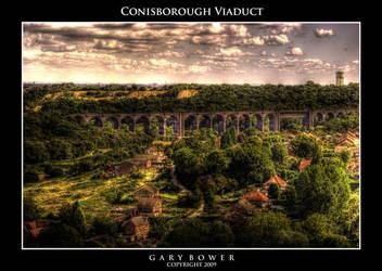 Conisborough Viaduct by AugustGaz