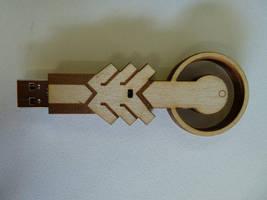 Geass:Knightmare Frame USB Key by zantaff