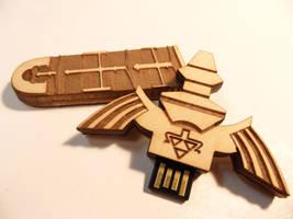 Master Sword USB by zantaff