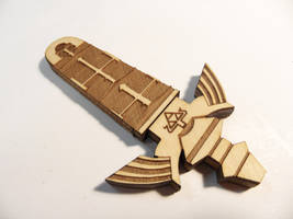 Master Sword USB Drive by zantaff