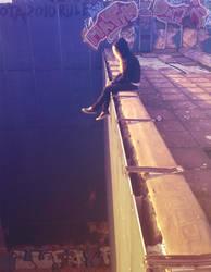 Always on the edge. by ragekay
