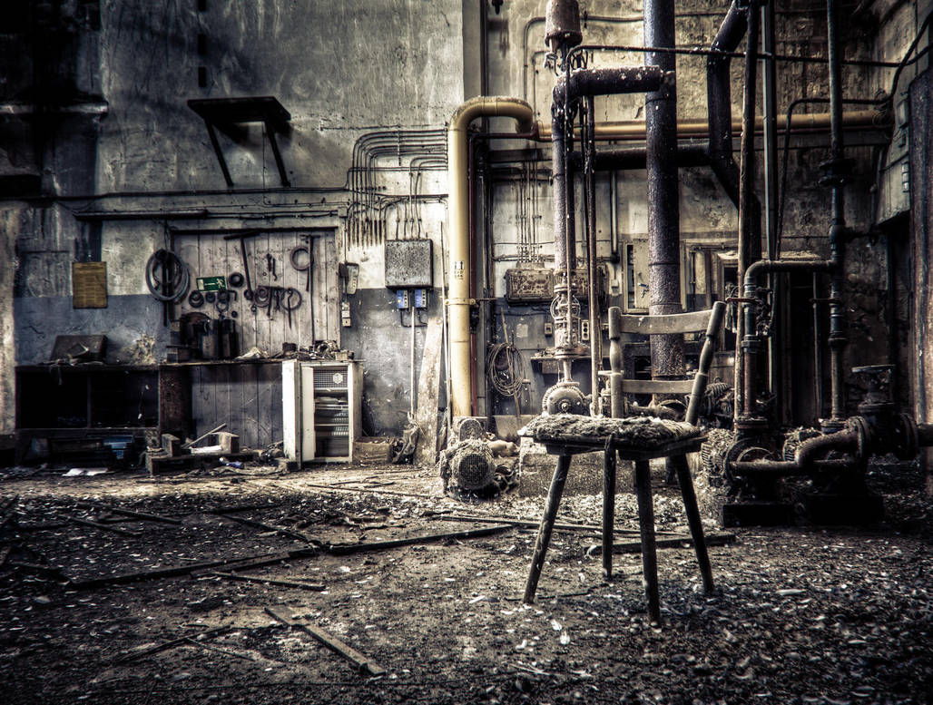 The Missing Machinist. by ragekay