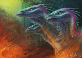 Hydra by Pechschwinge