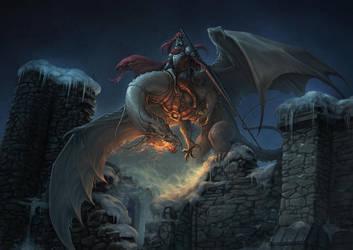 Dragonrider by Pechschwinge
