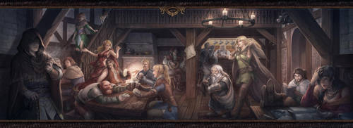 Tonight at the tavern by Pechschwinge