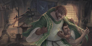 Priests can be badass too by Pechschwinge