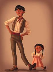 Hector y Coco by Pamjoke