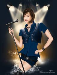 The Fantasy Singer by Levendivin