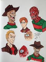 Freddy Sketches by Rinkusu001
