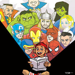 farewell to mr.stan lee by ElPino0921