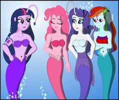 Scolded Mermaids by PhysicRodrigo