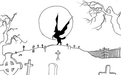 Vampire Hunter D -Silhouette- by OrganicGolem