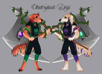 Underglade - Dogamy and Dogaressa by AnimaGlacialis