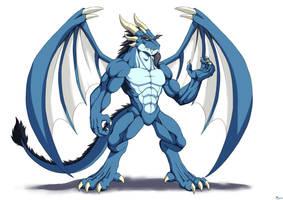 Humanoid dragon 3 by ktmz27