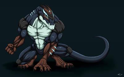 Super Mutant Salamander by ktmz27
