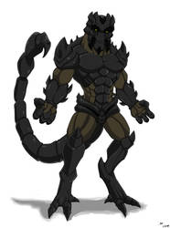 Mutant Scorpion  by ktmz27