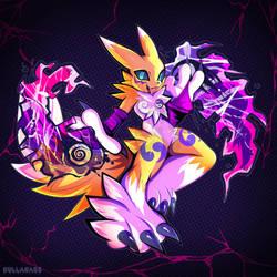 Digimon : Renamon by Gullacass