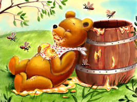 Winnie the Pooh by HoneyBees987