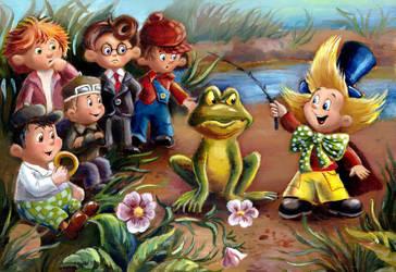 Neznayka and Friends by HoneyBees987