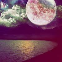 Starry Lake by MyLastBlkRose