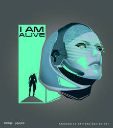 I AM ALIVE by MargheritaMattera