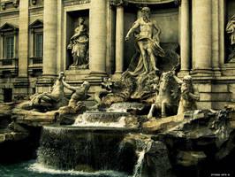Rome - Fontana di Trevi by StyGiaNArtS