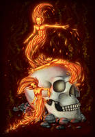 Fire Spirits by Swaja