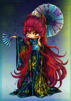 YamPuff's Magnificent Kimono by Swaja